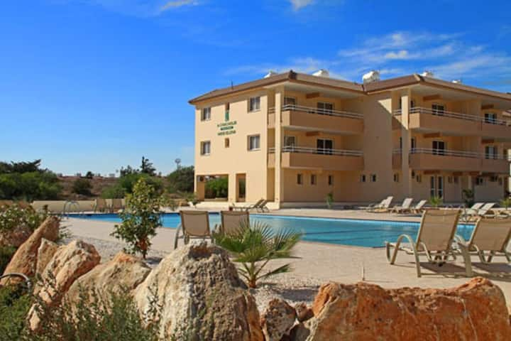 Nissi Beach 2 bed 2 bath apartment with seaview