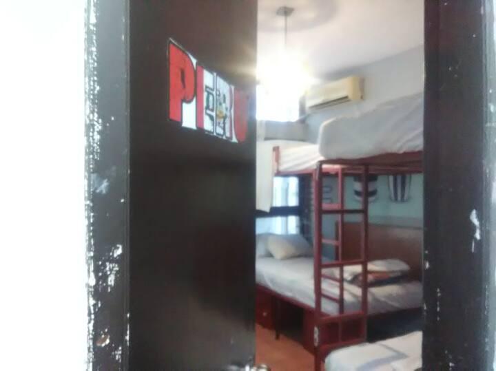 Cama individual-habitacion compartida-PERU 3