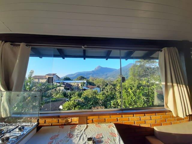 Casa em Ilhabela  Incrível vista pro Pico do Baepi