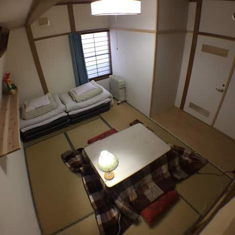 Tatami private room (B) in〖Motomachi House〗