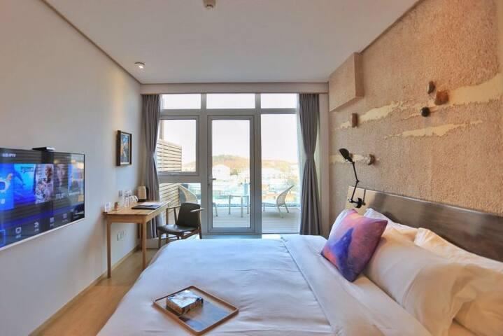 瞰山观海大床房 - Qingdao - Boutique hotel