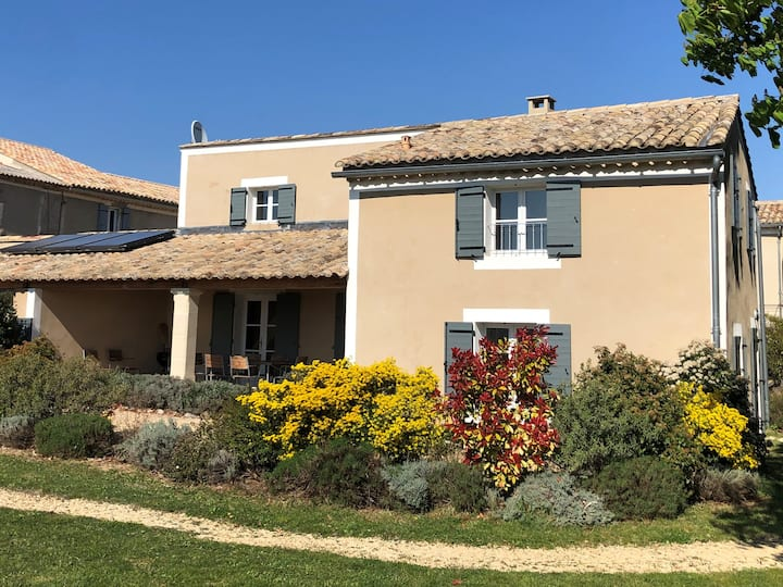 Les Marronniers - renovated house on vineyard
