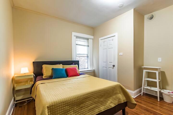 (72W-C) A Smart Private Bedroom in Douglass Flat
