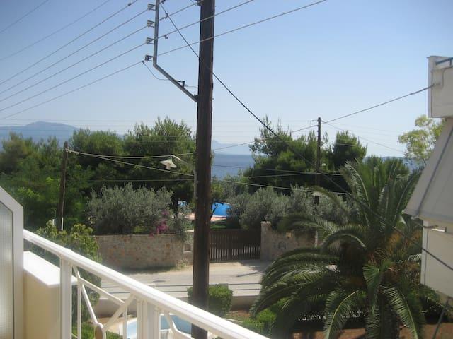 Διαμέρισμα με θέα τη θάλασα - Kato Almiri - Apartmen
