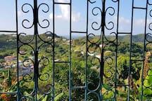 Stunning views from the veranda.