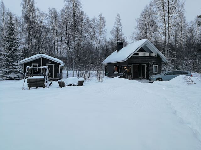 Nice and cosy seaside cottage by Gulf of Bothnia