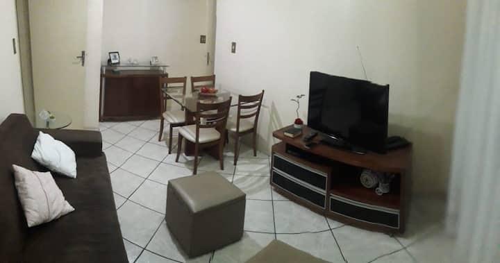 Apartamento completo perto de tudo