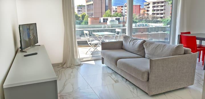 Beautiful apartment near the lake  (ROGGIA 8)