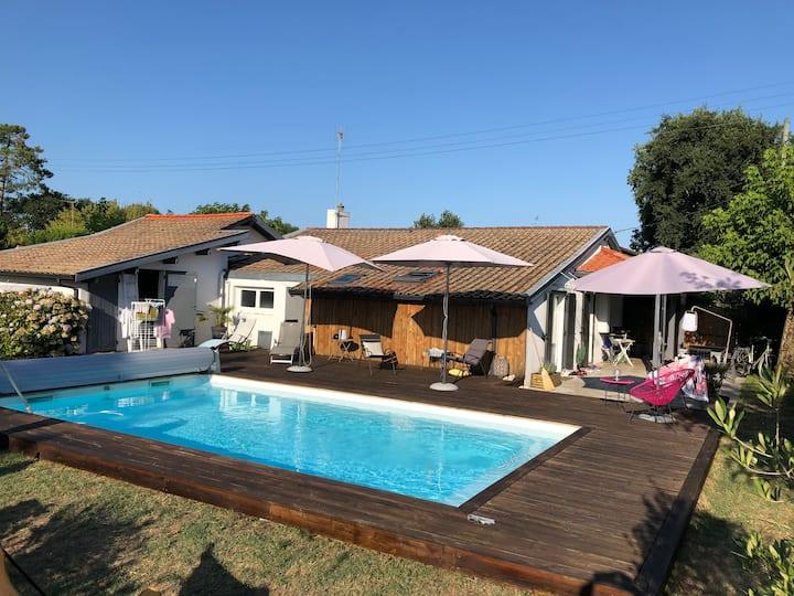 Belle Villa 8 pers avec piscine chauffée