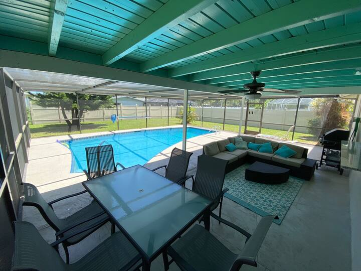 Heated Pool home near downtown Cape Coral