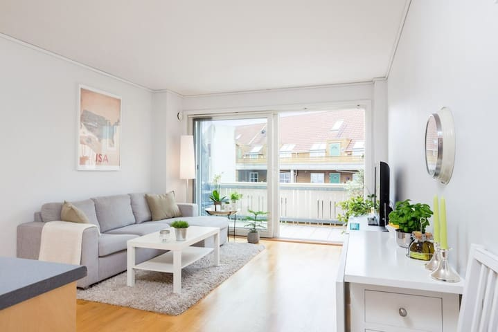 Cosy apartment 15 min from downtown Stavanger - Randaberg