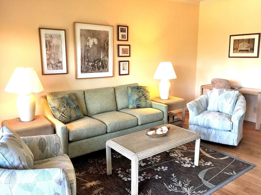 New living area furniture