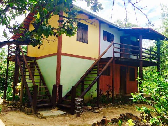 Fachada Casa Baru - Quatro Suites