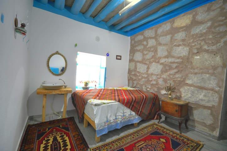 Belisırma Cave Butik Otel Mağara otelde konaklama