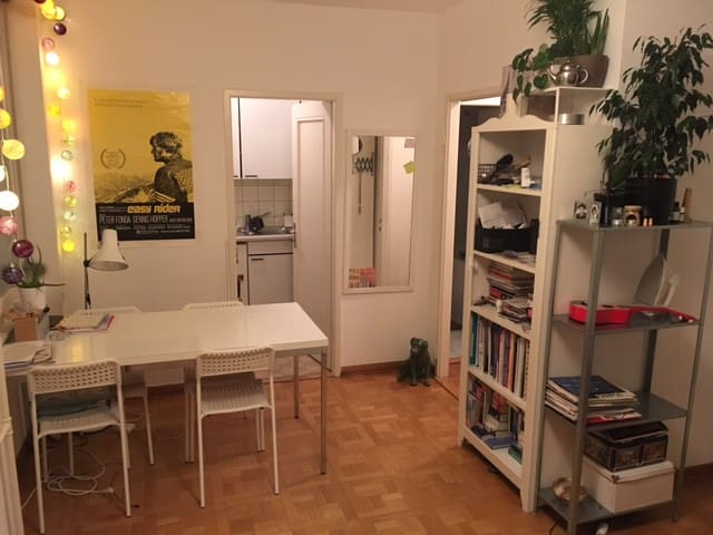 Bright and spacious studio close to train station