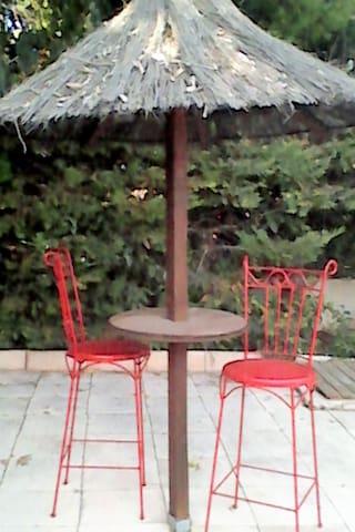 paillottes chaises hautes