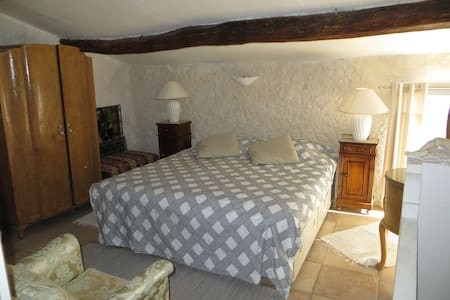 Private double bedroom with en-suite shower room - Aspiran - House