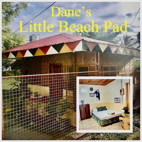 Dane's little beach pad, a great central location