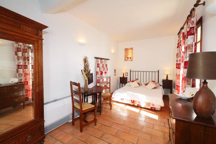 Chambre double privative confort 3* - Cabrières - Boutique hotel