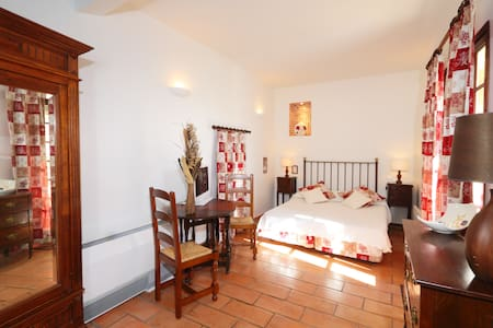 Chambre double privative confort 3* - Cabrières - Hotel boutique