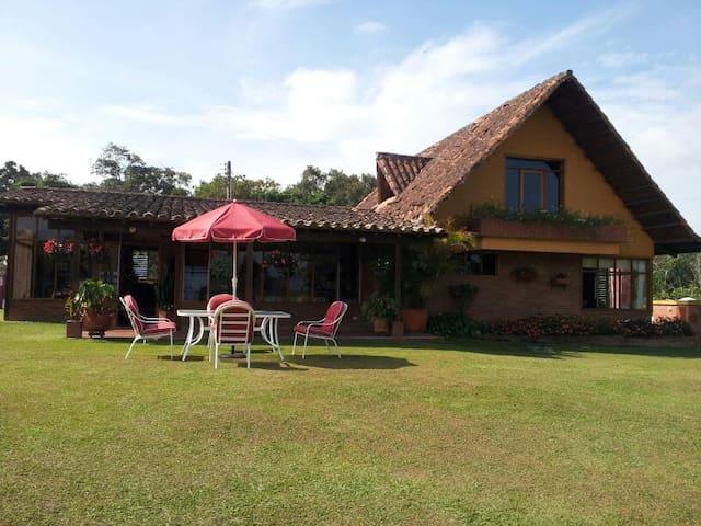 Villa Ligia - Mesa de Los Santos,  Santander - Los Santos - Natuur/eco-lodge