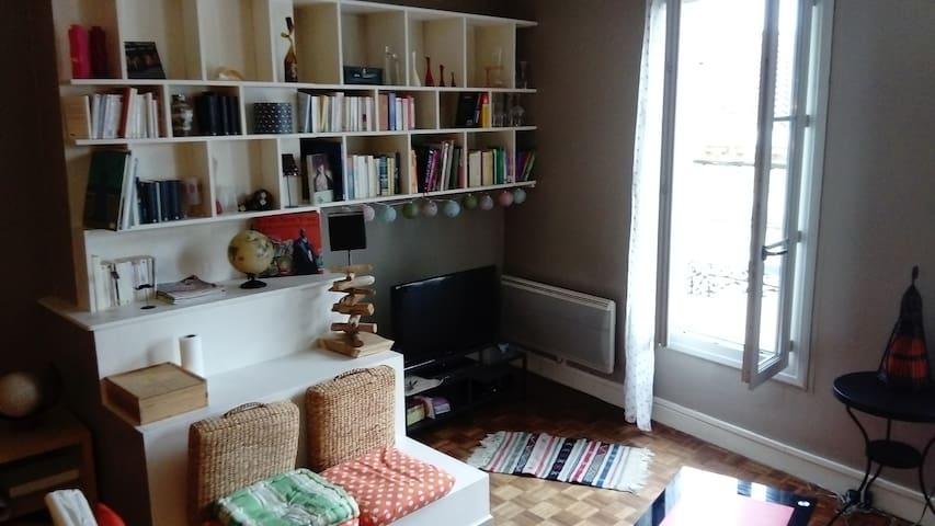 Appartement au 2 ème étage en plein coeur de ville - Bergerac - Huoneisto