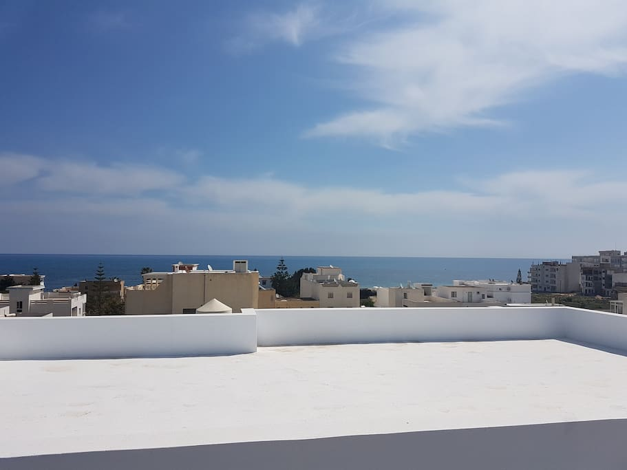 Terrasse de 90 m2