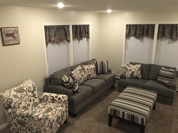 New & Very Clean Brockton Townhouse