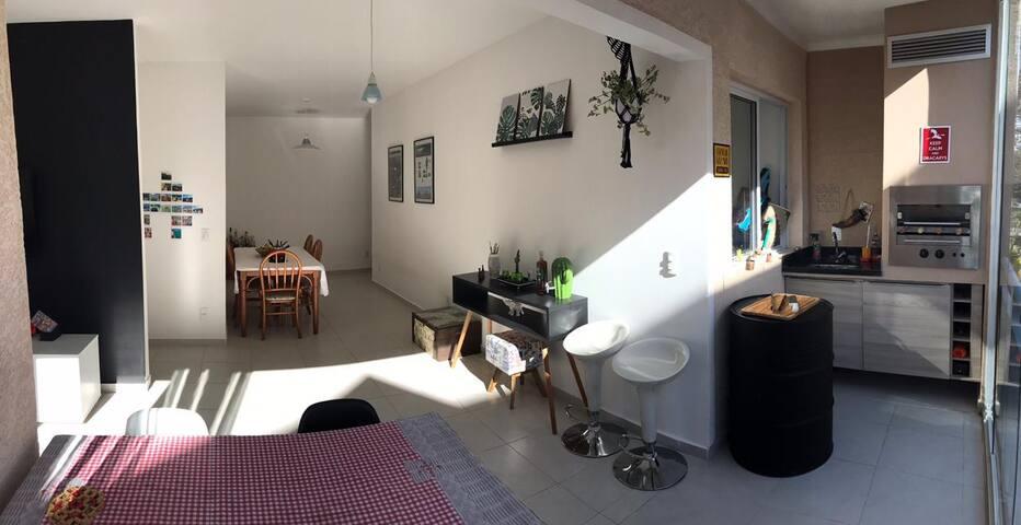 Apartamento Aconchegante em Bairro Nobre - Atibaia