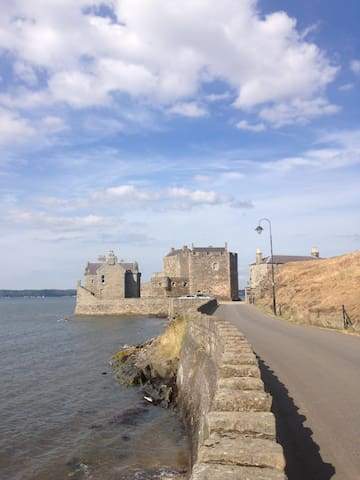 Stunning Blackness Castle