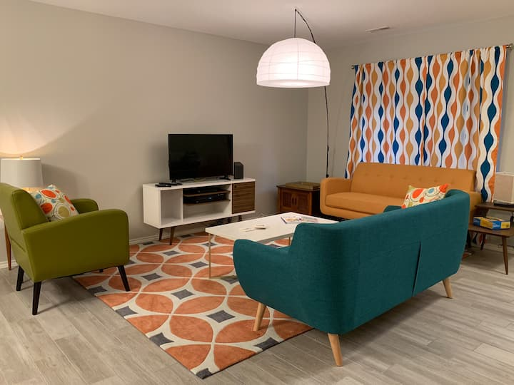 Mid-Century Modern Home Away From Home