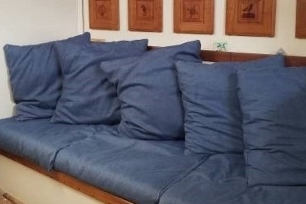 Single Couch FOR THIS LISTING! for sleeping in Common area
