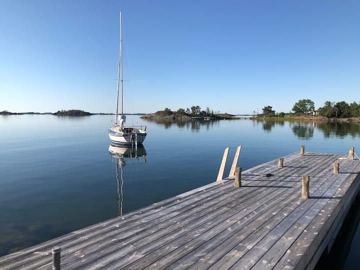 Havsutsikt i Arkösund, S:t Anna Skärgård