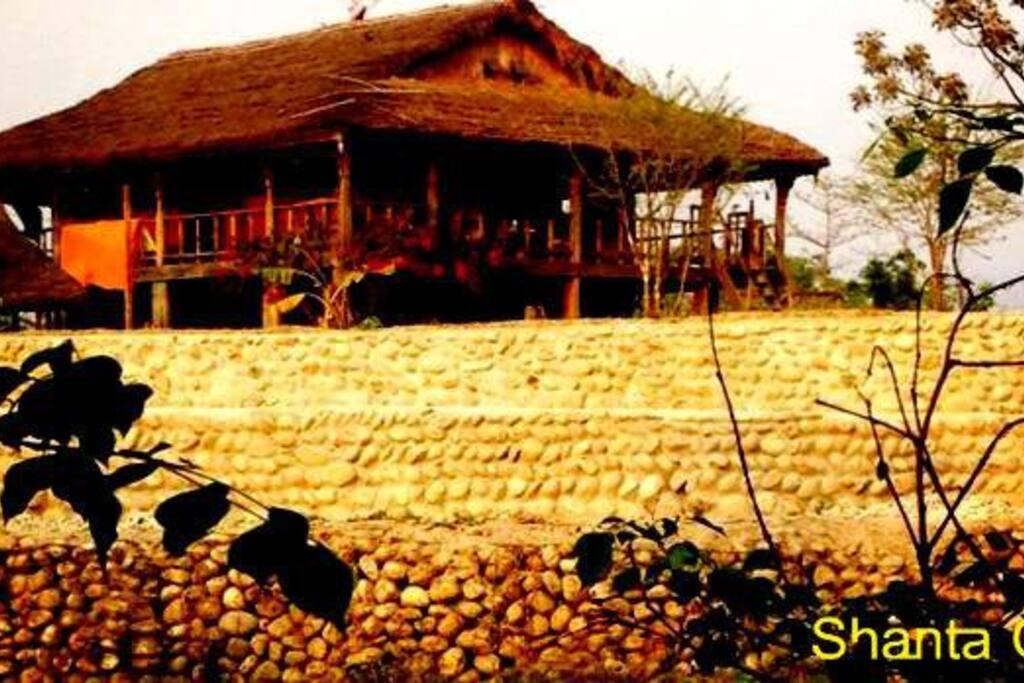 Shanta Ghar - Back side view