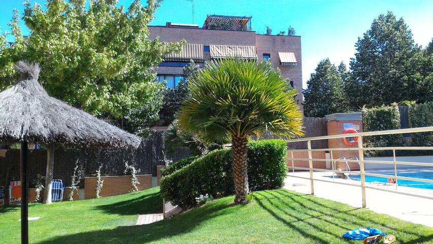 Room with private bathroom in Pozuelo - Pozuelo de Alarcón - Appartement