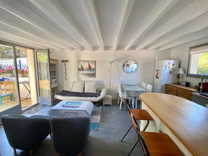 Maison 2 chambres dans les dunes «Les Cottages»