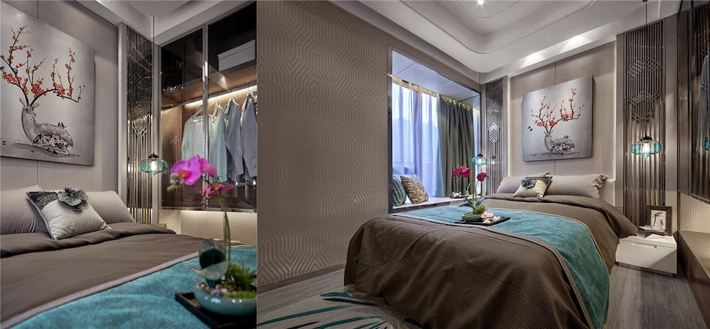 The hotel is a 15-minute drive to Chong Nonsi BTS Skytrain Station and Silom Shopping centre. Donmueng Airport is a 30-minute drive away, while Suvarnabhumi International Airport is a 40-minute ride from the hotel.