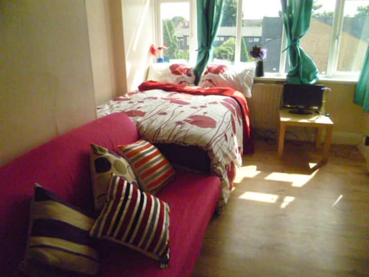 LONDON PERSHORE 2 BEDROOM FLAT, SLEEPS 2-8.