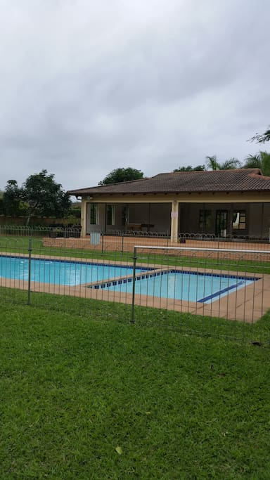 This is a communal pool within the Estate.