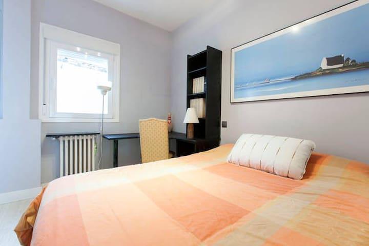 Single with big bed Sol/Museo Prado - Madrid - Casa