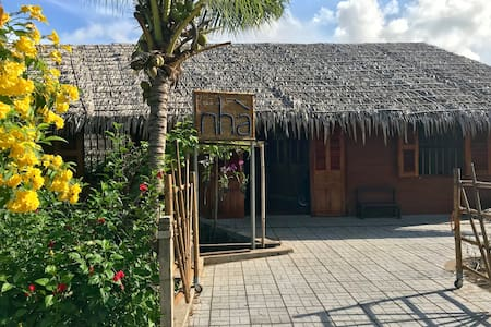 Private bungalow 1 bed ( for 2 ) in Nha Homestay