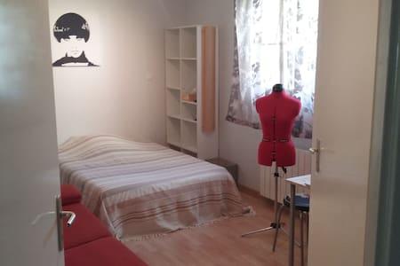 Chambre individuelle avec SdE en RdC dans villa - Toulouse - Huis