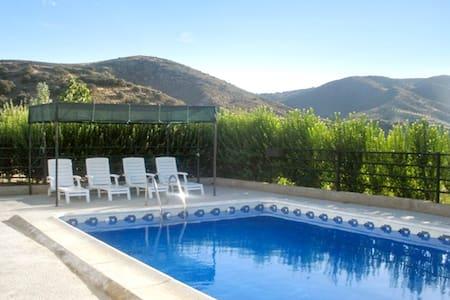 Ruhiges Haus mit Swimmingpool - Alhama de Granada