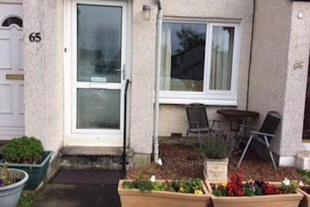 ground floor terraced 1 bedroom house with garden