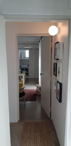 Interlinking passage between loft 1 &2 (each loft is private)