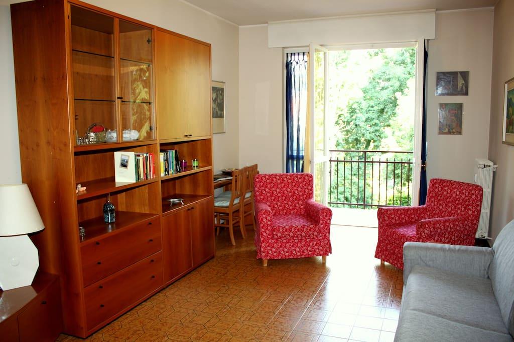 Milano Terrace Condos Living Room