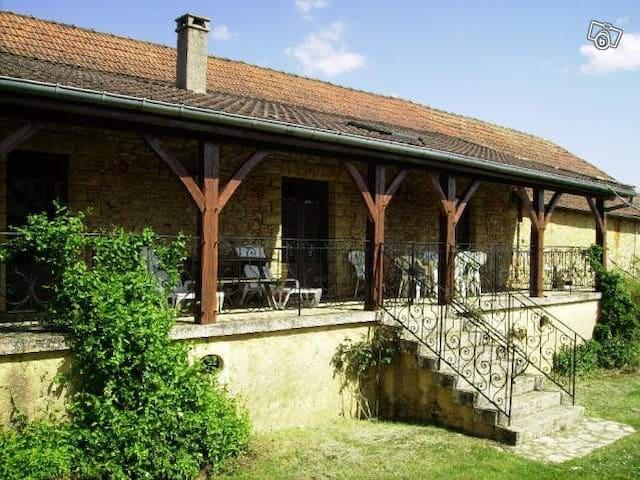 """Maison de caractère en pierre """"la Terrasse"""" - Saint-Laurent-la-Vallée - House"""