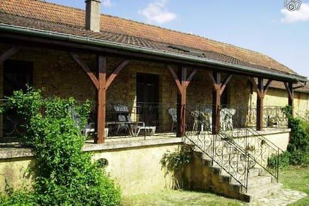 """Maison de caractère en pierre """"la Terrasse"""""""