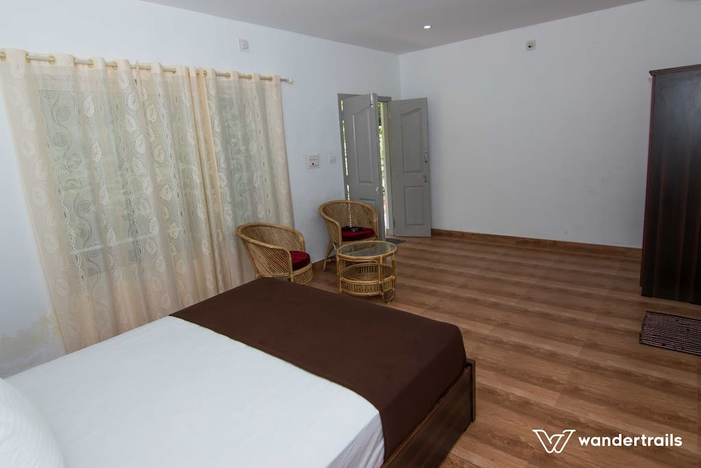 The bedrooms are well furnished and contains basic amenities
