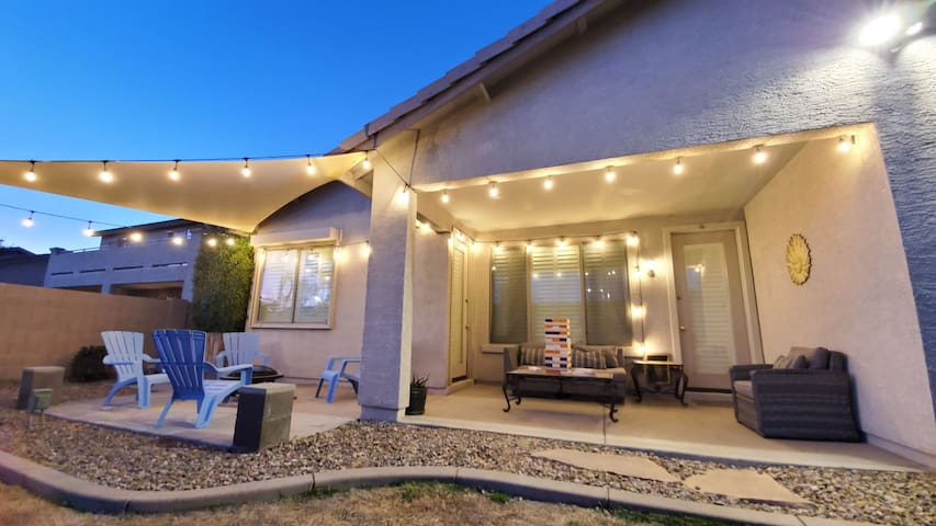 Cozy 3BR Home |Glendale| Stadium|Westgate w/Patio